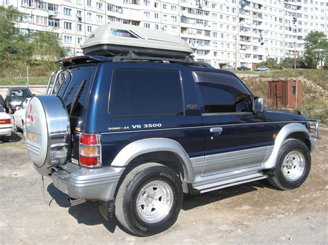 how to fix cars 1994 mitsubishi pajero security system 1994 mitsubishi pajero pictures 3500cc gasoline automatic for sale
