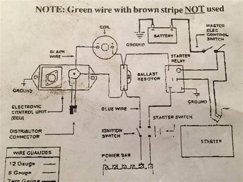 mopar electronic ignition coil wiring diagram wiring