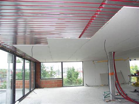 chauffage radiant plafond plafond suspendu placo prix devis travaux en ligne 224