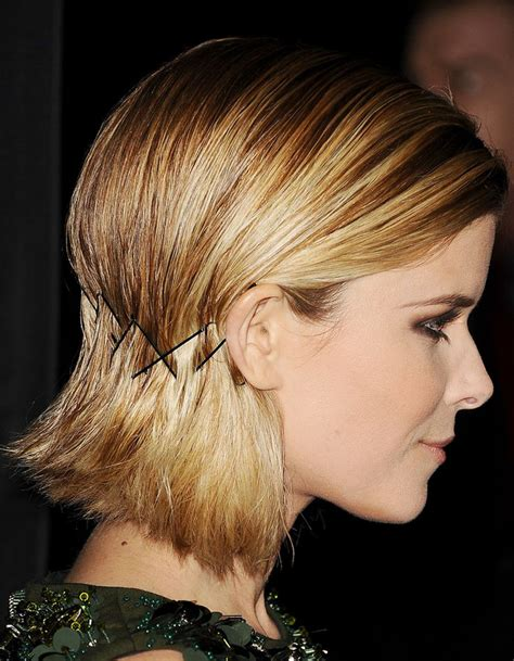 hairstyle ideas using bobby pins pinces plates sur carr 233 court bobby pins 15 nouvelles