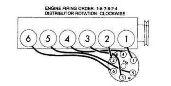 chevy 235 firing order diagram 1954 235 chevy engine firing order 1954 free engine