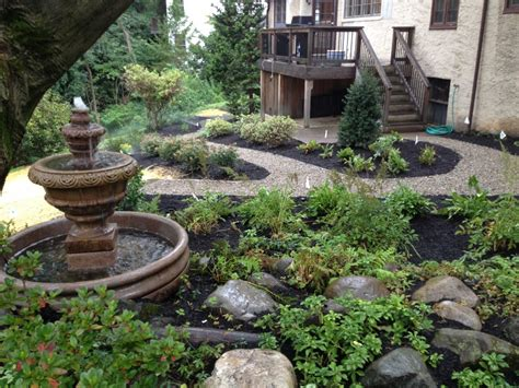 pea gravel backyard ideas triyae pea gravel patio ideas various design