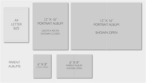 Wedding Album Design Size by Wedding Album Sizes For Our Collections The Wedding