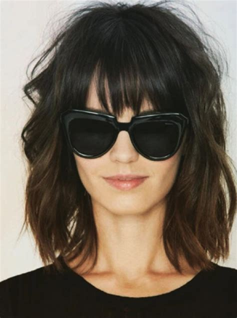 shaggy hair styles with bangs with medium hair 40 40 short super spunky shag hairstyles