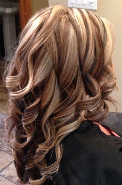 blonde highlights with caramel lowlights brown hair with blonde highlights and auburn lowlights jpg