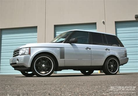 silver range rover black rims land rover range rover custom wheels giovanna gianelle