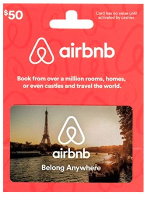 Discount Airbnb Gift Card - amazon discounted airbnb gift cards today