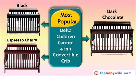 Delta Canton 4 In 1 Convertible Crib Black Delta Children Canton 4 In 1 Convertible Crib Review