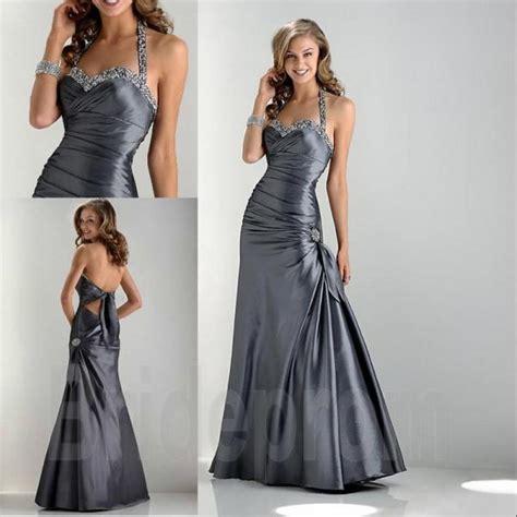 Dress Naqila Square Size 10 12 Thaluna Plus Jilbab Gray Halter Backless Prom Dresses Satin Mermaid Dress