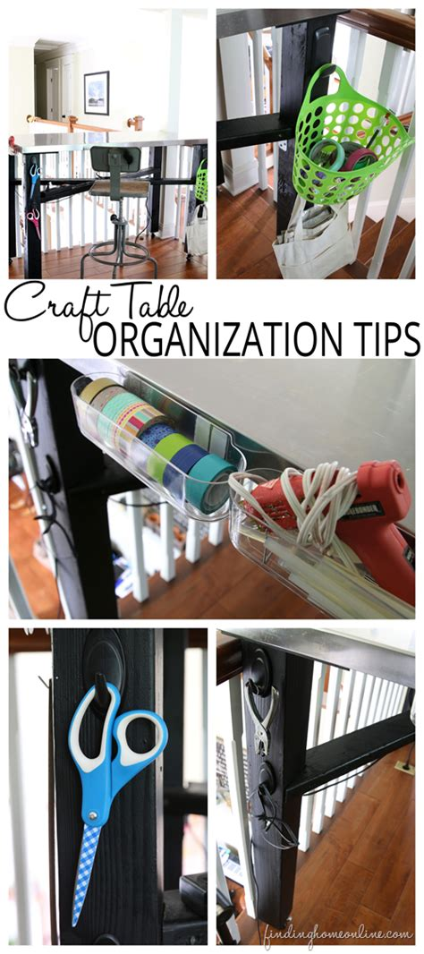 Craft Table Organization Tips Crafting Crafts And To Craft Desk Organization Ideas