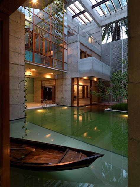 20 wonderful indoor ponds home design and interior