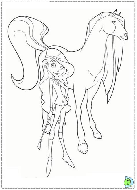 horseland pictures az coloring pages