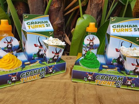 themed party supplies johannesburg springboks rugby party supplies decor south africa