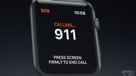 Lu Emergency Tl apple can call 911 with a single button press the