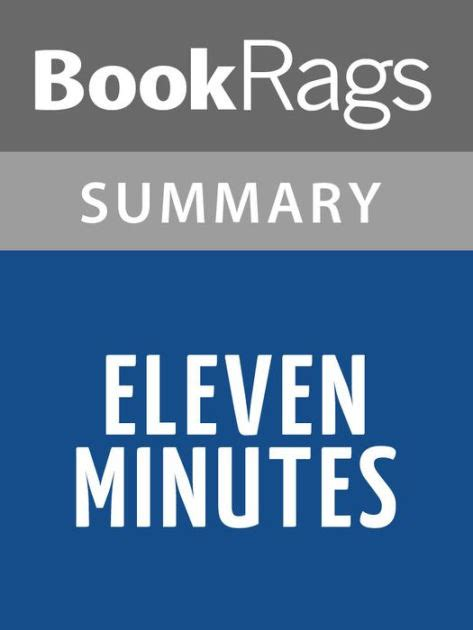 eleven minutes eleven minutes by paulo coelho l summary study guide by bookrags nook book ebook barnes