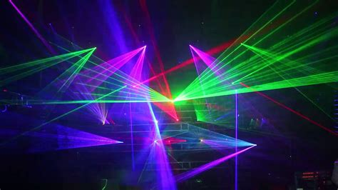 rgb laser light projector 6 watt colour rgb laser light projector ilda