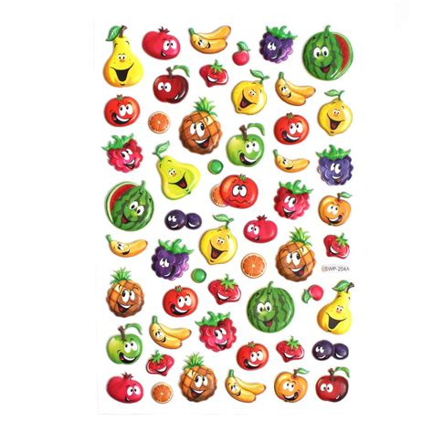 small fruit stickers hobbycraft