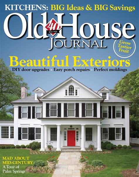 old house journal old house journal magazine subscription deal 1 year for 4 50 stretching a buck