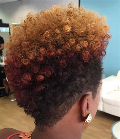 tapered natural bob hairstyle for black women 40 cute tapered natural hairstyles for afro hair