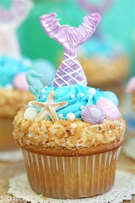 Christmas Decorating Ideas For Kitchen Mermaid Cupcakes Sugarhero