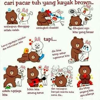 wallpaper bbm bagus display picture dp bbm line lucu brown and cony info