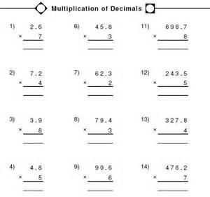 multiplying and dividing decimals worksheet ks3 free