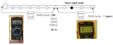 diy christmas lights how to use a multimeter 3 led