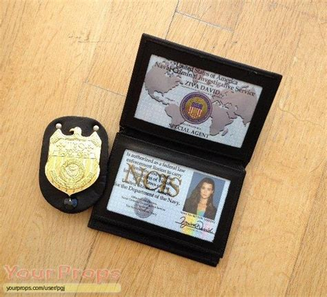 service in vest navy ncis naval criminal investigative service ncis credentials replica tv series prop