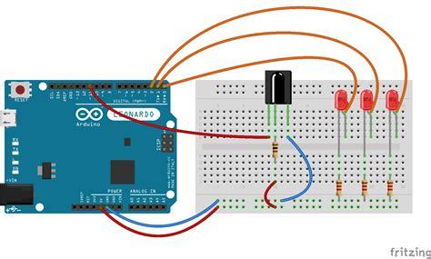 dioda ir jak działa dioda ir zasilanie 28 images schematy połączeń diod powerled 1w arduino zdalne sterowanie