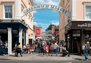christmas at greenwich market broke in london