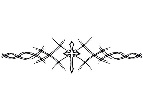 cross and thorns tattoo armband cross wallpaper just for me