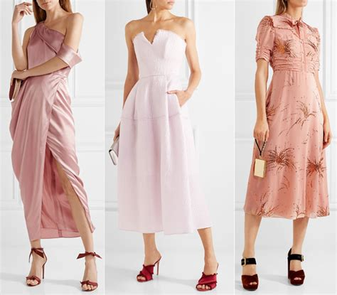 what color to wear to an pastel pink dress what color shoes with light pink dress