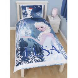 Elsa Bedroom Set Disney Frozen Elsa Reversible Duvet Set New Free P P
