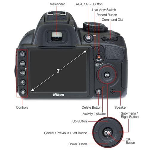 Lcd Part Nikon D3100 nikon d3100 25472 digital slr 14 2 megapixels 3