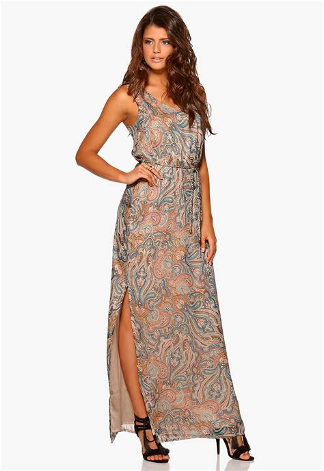 Safana Dress M E lake savanna print dress paisley bubbleroom