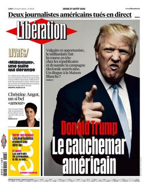 an american story my family and yours liberation of the inner self is power books lib 233 ration on quot a la une de lib 233 jeudi donald