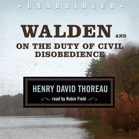 walden book list walden and on the duty of civil disobedience