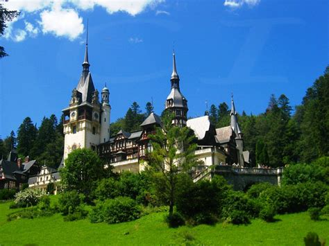 Most Beautiful Places In America peles castle romania most beautiful places in the world