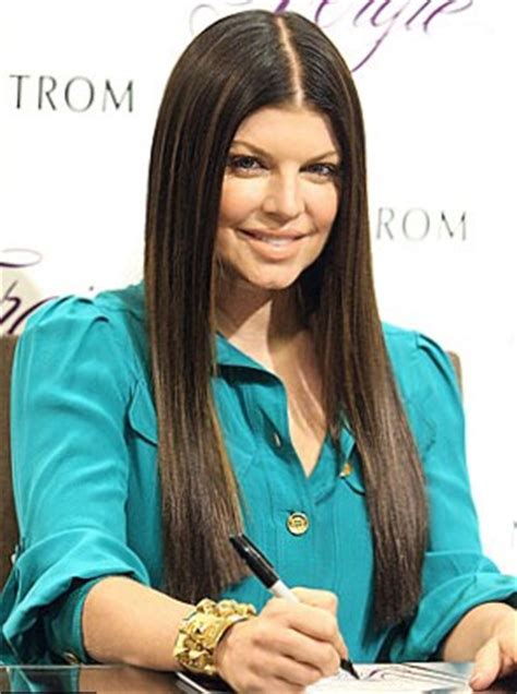 drastic hair changes when you are a brunette celebrity fergie hair changes photos video