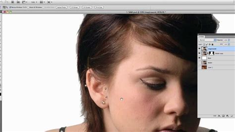 photoshop cs5 masking tutorial video photoshop cs5 quick selection tool youtube