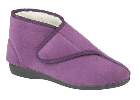 diabetic slippers for womens diabetic orthopaedic comfort slippers boots shoes