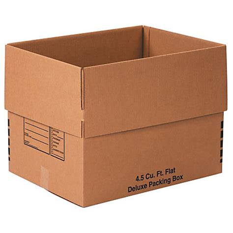 office depot brand deluxe moving boxes 24 x 18 x 18 kraft