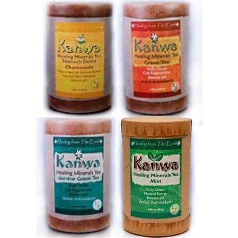 Kanwa Minerals Detox by Medicinal Herbs Teas