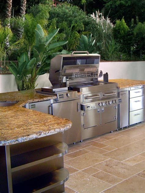 Outdoor Kitchen Ideas On A Budget Outdoor Kitchen Ideas On A Budget Pictures Tips Ideas Kitchen Ideas Steel And Stainless Steel