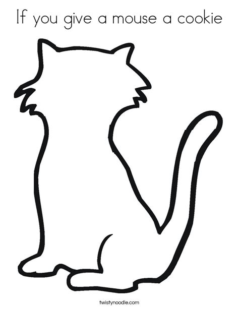 mouse cookie coloring page if you give a mouse a cookie coloring pages free