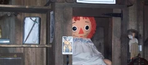 annabelle doll museum real life encounter with warren s actual annabelle doll