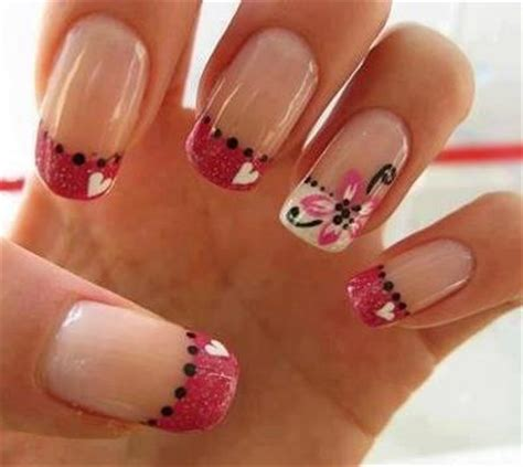 imagenes de uñas decoradas ala moda 2015 in moda for me u 241 as decoradas u 241 as francesas siempre a