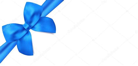 gift certificate voucher template with isolated blue bow