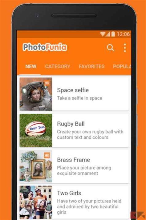 app cornici foto migliori app fotomontaggi per android iphone e