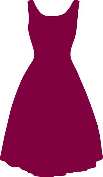 1950s dress clip at clker vector clip